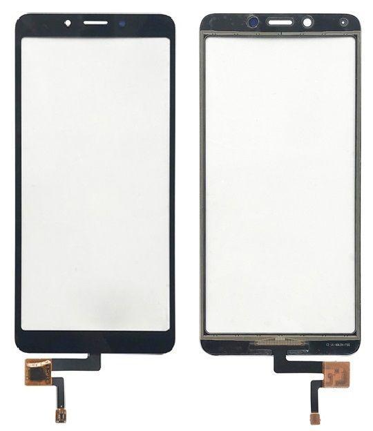 Сенсор (тачскрін) для телефону Xiaomi Redmi 6, 6A Black