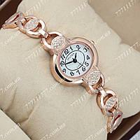 Часы женские наручные Sputnik 995510 Gold/Gold/White