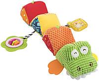 """Мягкая игрушка-гусеница Baby Team """"Крокодил"""""""