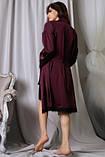 Комплект для сна халат и ночная рубашка, фото 2