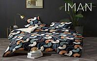 Двуспальный Евро Комплект постельного белья IMAN из Бязи, Хлопок GOLD LUX