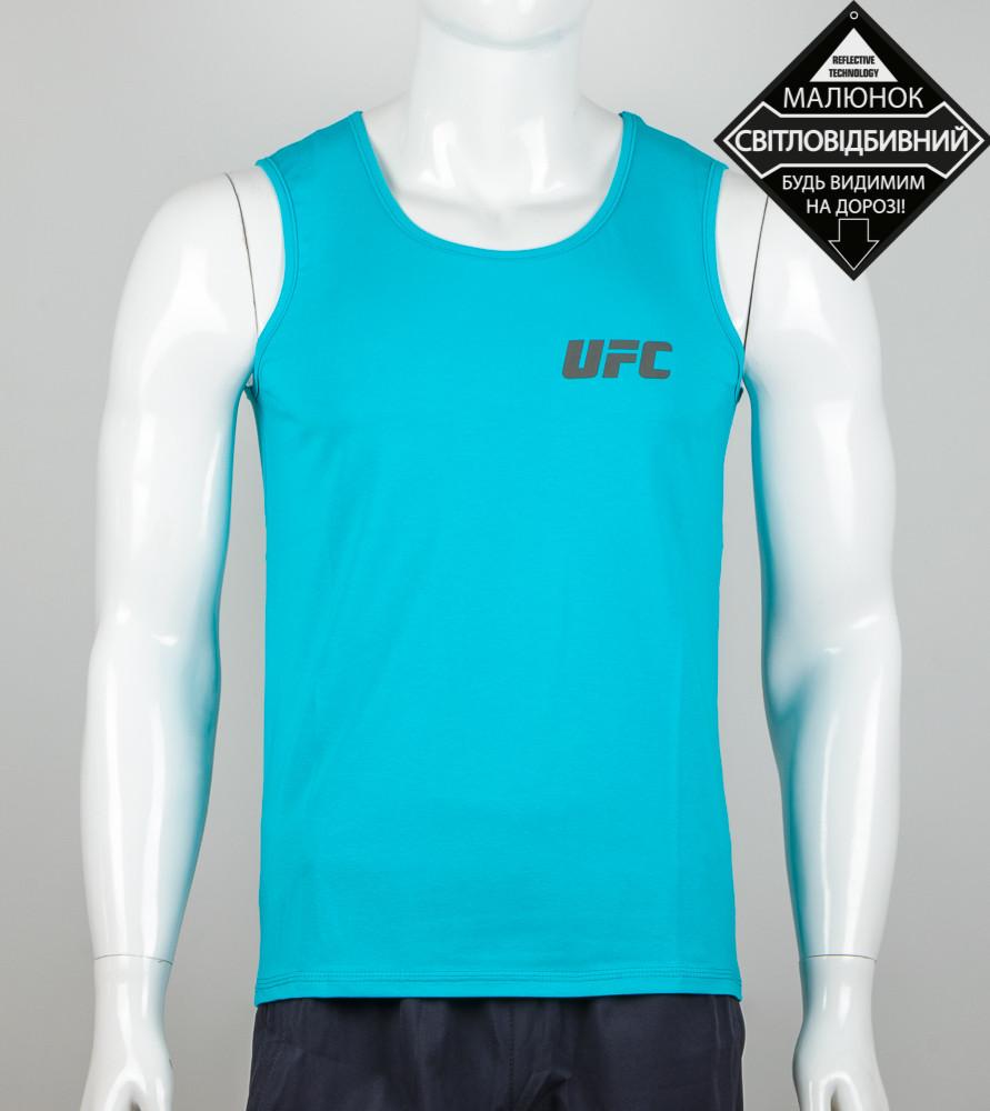 Майка мужская Reebok UFC (2068мм), Бирюза