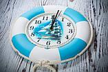 """Часы деревянные """"Спасательный круг """", фото 9"""
