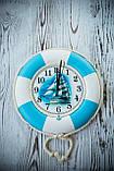 """Часы деревянные """"Спасательный круг """", фото 5"""