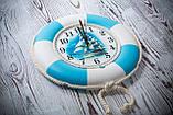 """Часы деревянные """"Спасательный круг """", фото 10"""