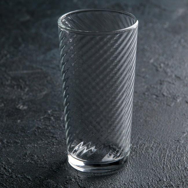 Стакан стеклянный высокий для напитков ОСЗ Эллипсо 230 мл (17с1965)