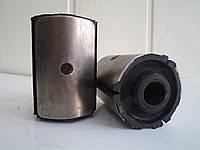 Втулка ушка рессоры ГАЗ 3302 (сайлентблок) (люкс) (пр-во Украина)