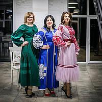 "Платье в бохо стиле ""Волошка"" Embroidered women's dress"