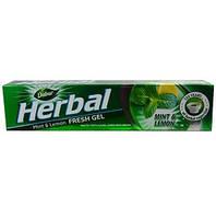 Зубная паста-гель для чувствительных зубов Мята и Лимон Дабур (Dabur, Mint & Lemon) 80 г