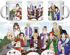 Кружка чашка Hetalia