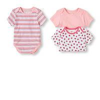 Боди девочке,комплект,набор бодиков детских США 100% coton 0-3 мес