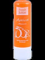 """Гигиеническая помада """"Apricot"""" 3,6г. Freshjuice"""