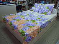 """Ткань для пошива постельного белья бязь премиум Сирень / """"Чарівна Ніч"""""""