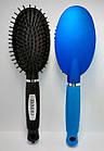 Расчёска для волос DAGG массажная пластиковая с пластиковыми зубчиками 25 см 9551 TBU, фото 3