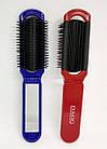 Складна щітка для волосся з дзеркалом компактна DAGG 8592 А, фото 5