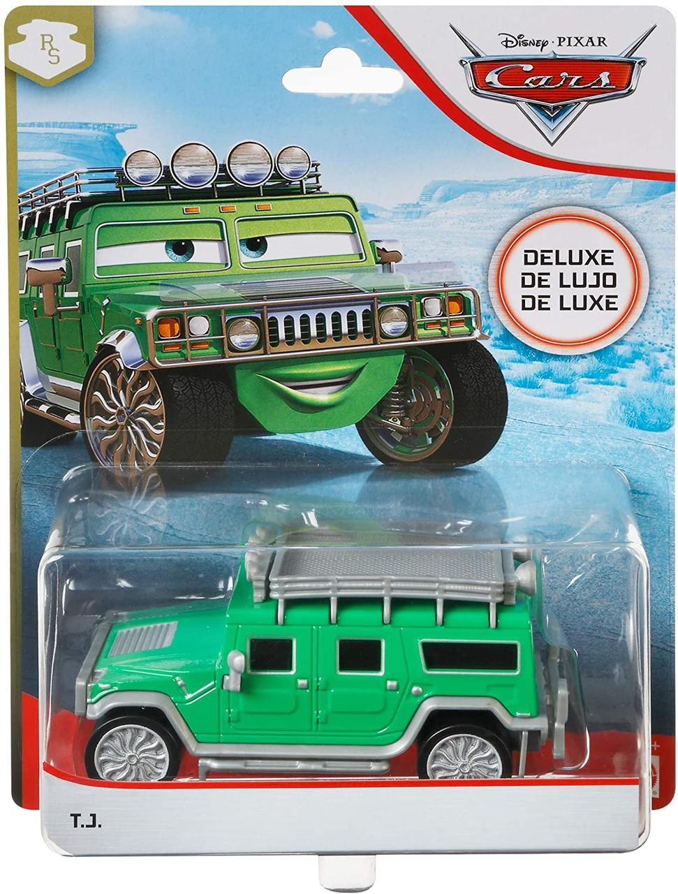 Тачки: Хаммер Ти Джей (T.J.) Disney Pixar Cars Deluxe  от Mattel