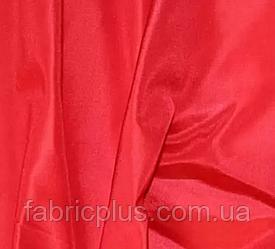 Ткань подкладочная  шелковая  красный 170
