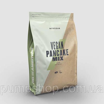 Смесь для приготовления блинчиков для веганов MyProtein MyVitamins Vegan Pancake Mix 500 г, фото 2