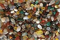 Натуральный камень крошка Микс 4-9 мм 10 грамм Камінь крихта різний оброблений