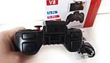 Беспроводной контроллер игровой Bluetooth Джойстик V8, фото 3