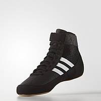 Борцовки обувь для борьбы Adidas Havoc черные для детей и взрослых