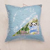 Подушки бамбуковые стёганые однотонные 50*70см