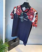Футболка мужская Dolce & Gabbana синяя