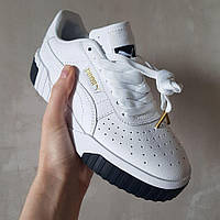 Женские кроссовки Puma Cali Sport White/Black, пума кали, жіночі кросівки пума калі