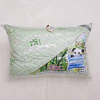 Подушки бамбуковые стёганые зелёные 50*70см