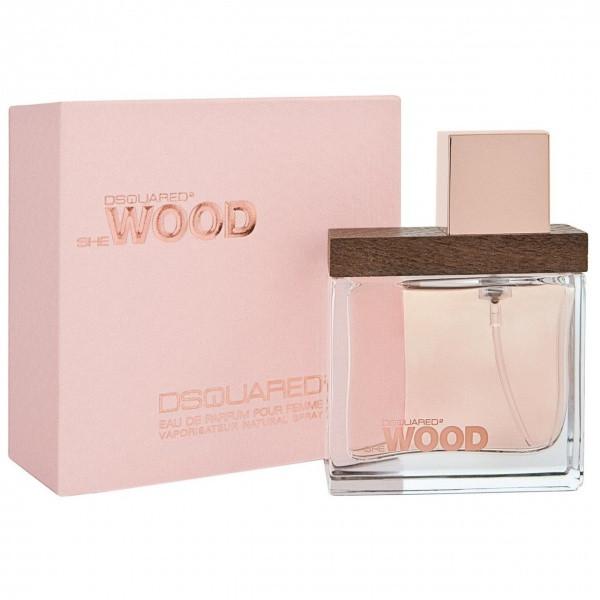 DSQUARED She Wood Парфумована вода EDP 100ml (Дискваред Ши Вуд) Жіночий Парфум EDT Парфуми Парфумерія Parfum