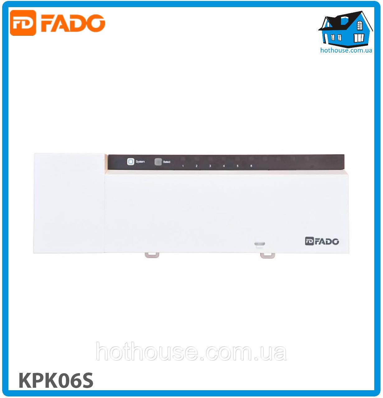 Колодка клемна FADO KPK06S SMART 220V 6 зон