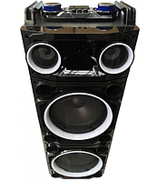"Колона  Avcrowns CH 6210 2 x 10"" PA Speaker +Bluetooth +USB/SD/FM +LED"