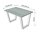 Каркас для стола Бинго Лайт (серия Loft) ТМ Металл-Дизайн, фото 5