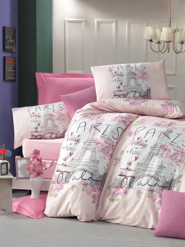 Евро Комплект постельного белья Ranforce Holiday 200x220 см. (34861_2,0)