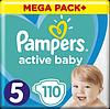Підгузники Pampers Active Baby Junior 5 (11-18 кг) Mega Pack 110 шт