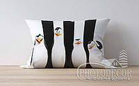 """Детская подушка с фото """"Пингвины"""""""