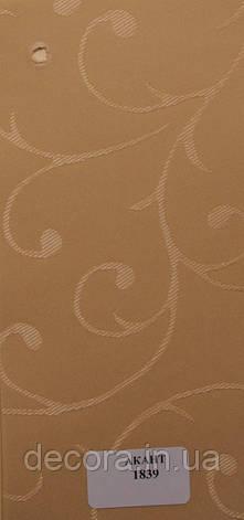 Рулонні штори Міні Akant 1839 40см., фото 2