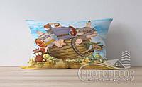 """Детская подушка с фото """"Русские богатыри"""""""