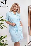 Жіноче літнє плаття великого розміру: 46-48, 50-52, 54-56, 58-60, фото 4