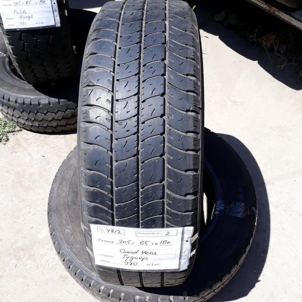 Бусовские шины б.у. / резина бу 205.65.r16с Goodyear Marathon Гудиер