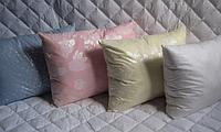 Напірник на подушку 50х70 см різні забарвлення