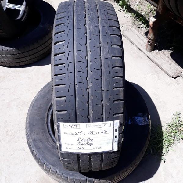 Бусовские шины б.у. / резина бу 215.65.r16с Kleber Transpro Клебер