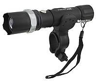 Велосипедный фонарик Police BL-T8628 с зуммом (box) (1182)