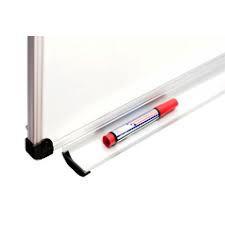 Доска настенная для маркера размером 90х120 см, алюминиевая рама S-line