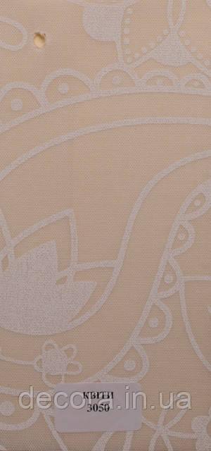 Рулонні штори Міні Квіти 3050 40см.