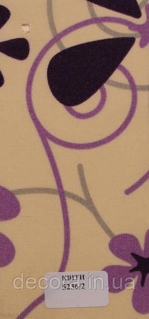 Рулонні штори Міні Квіти 5236/2 40см.