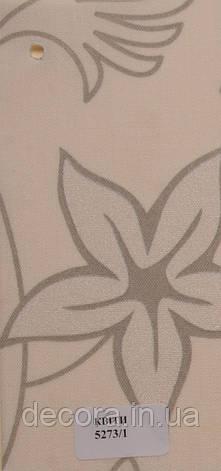 Рулонні штори Міні Квіти 5273/1 40см., фото 2