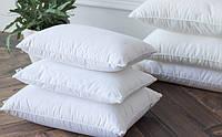 Напірник на подушку розміром 50х70 см білий