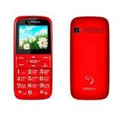 Мобильный телефон Sigma Comfort 50 Slim 2 Red