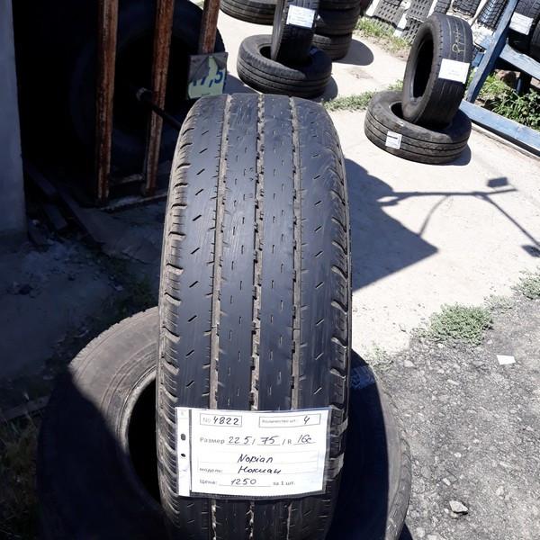 Бусовские шины б.у. / резина бу 225.75.r16с Nokian Cline Нокиан